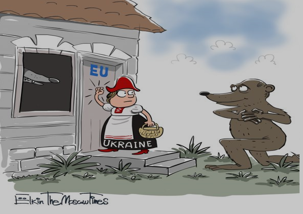 Малюнок з сайту The Moscow Times, від 13.11.2013 р.