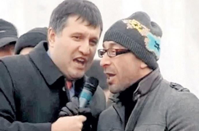 Авакова та Кернеса часів Майдану. Вже зовсім скоро партнери стали ворогами
