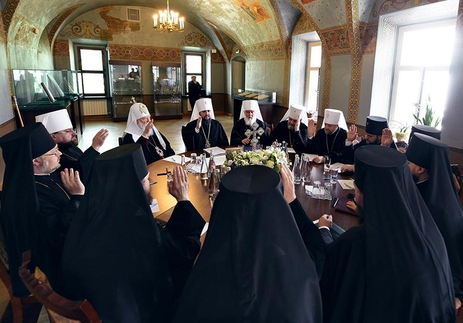 Священий Синод (фото прес-служби ПЦУ)