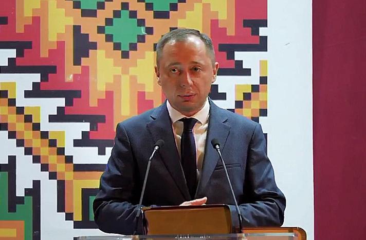 Ігор Гірчак від місцевої партії «Порядок. Відповідальність. Справедливість» – секретар Тернопільської міськради