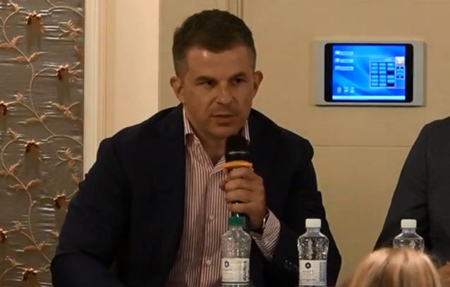 Фінансовий директор ВАТ «Вінницягаз» Сергій Кібітлевський на зустрічі Європейської Бізнес Асоціації
