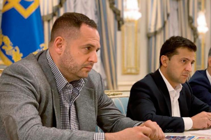 Андрій Єрмак та Володимир Зеленський (фото з відкритих джерел)