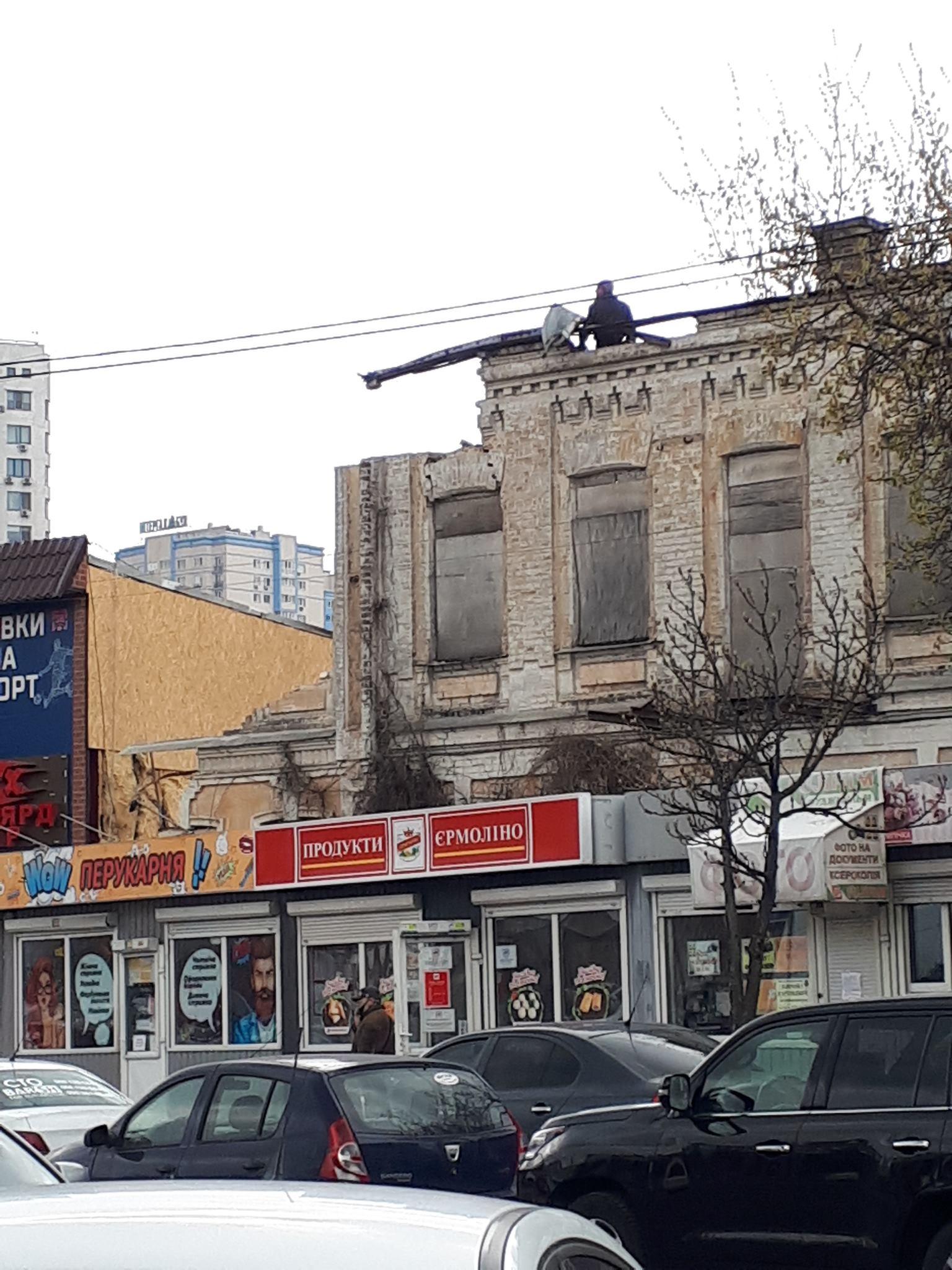 Частково демонтована будівля є однією дореволюційних будинків, що входять до складу Пивоварні Карла Шульца. Фото: Мапа реновації
