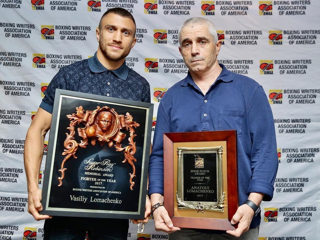 Анатолій Ломаченко називають найкращим тренером року, багато експертів вважають його найкращим тренером світу