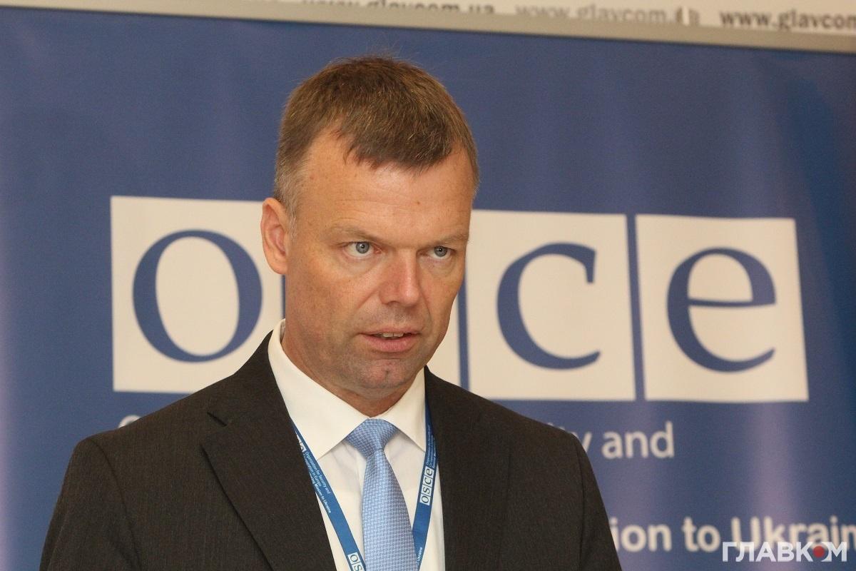 Перший заступник спеціальної моніторингової місії ОБСЄ Александр Хуґ