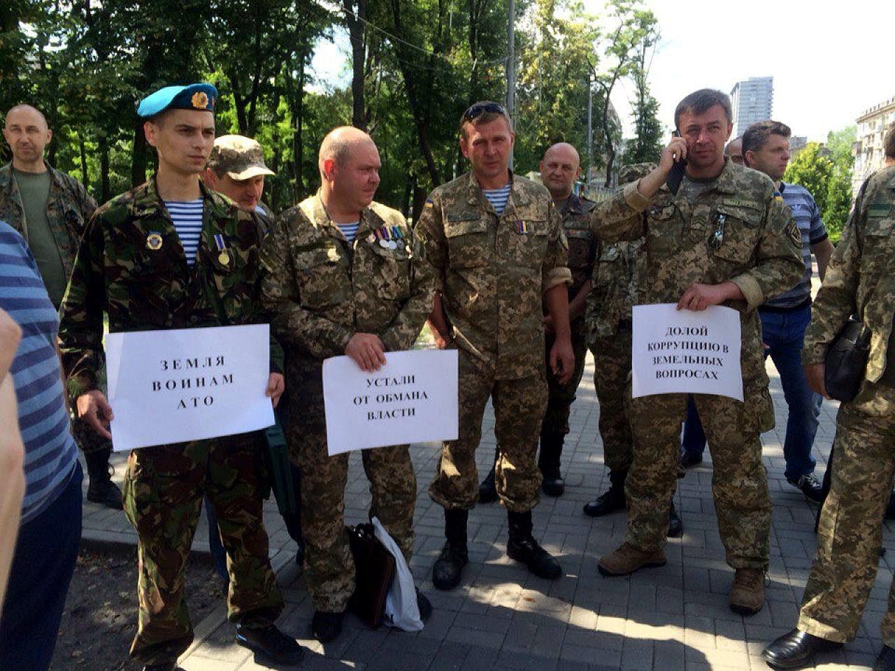В Україні нараховується понад 350 тисяч учасників АТО