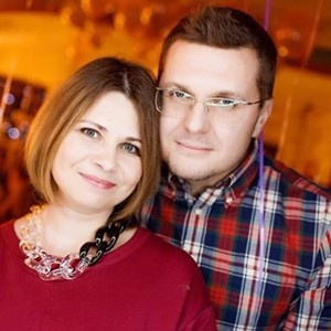 Іван Баканов з дружиною