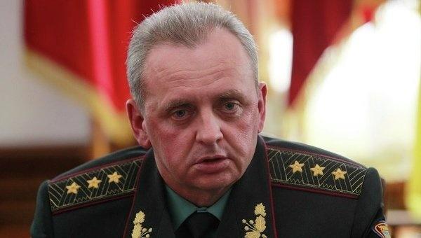 Голова Генштаба Віктор Муженко