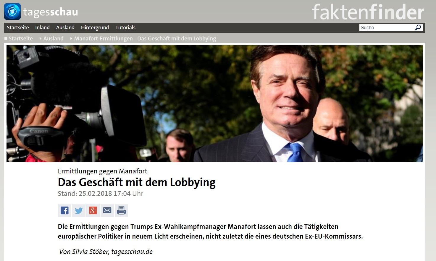 Програма Tagesschau німецького телеканалу ARD оприлюднила у неділю, 25 лютого, матеріал, в якому докладно розповіла – хто саме з європейських політиків найвищого рівня «оскоромився» роботою на Януковича, яким чином вони це робили і що тепер з того може вийти.