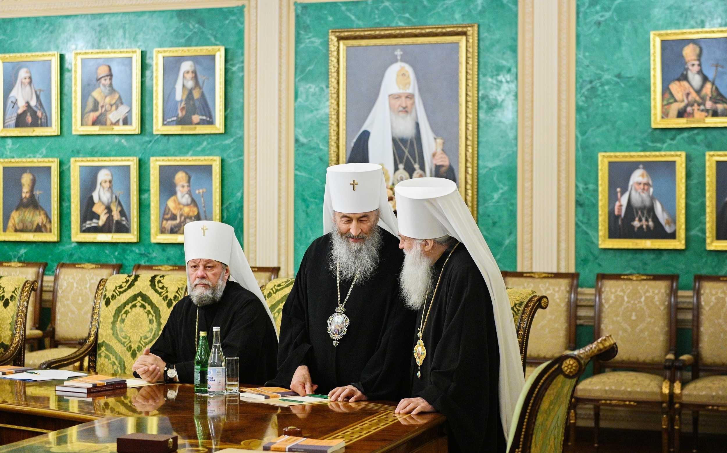 Серед постійних членів синоду РПЦ – очільник так званої Української православної церкви Московського патріархату Онуфрій