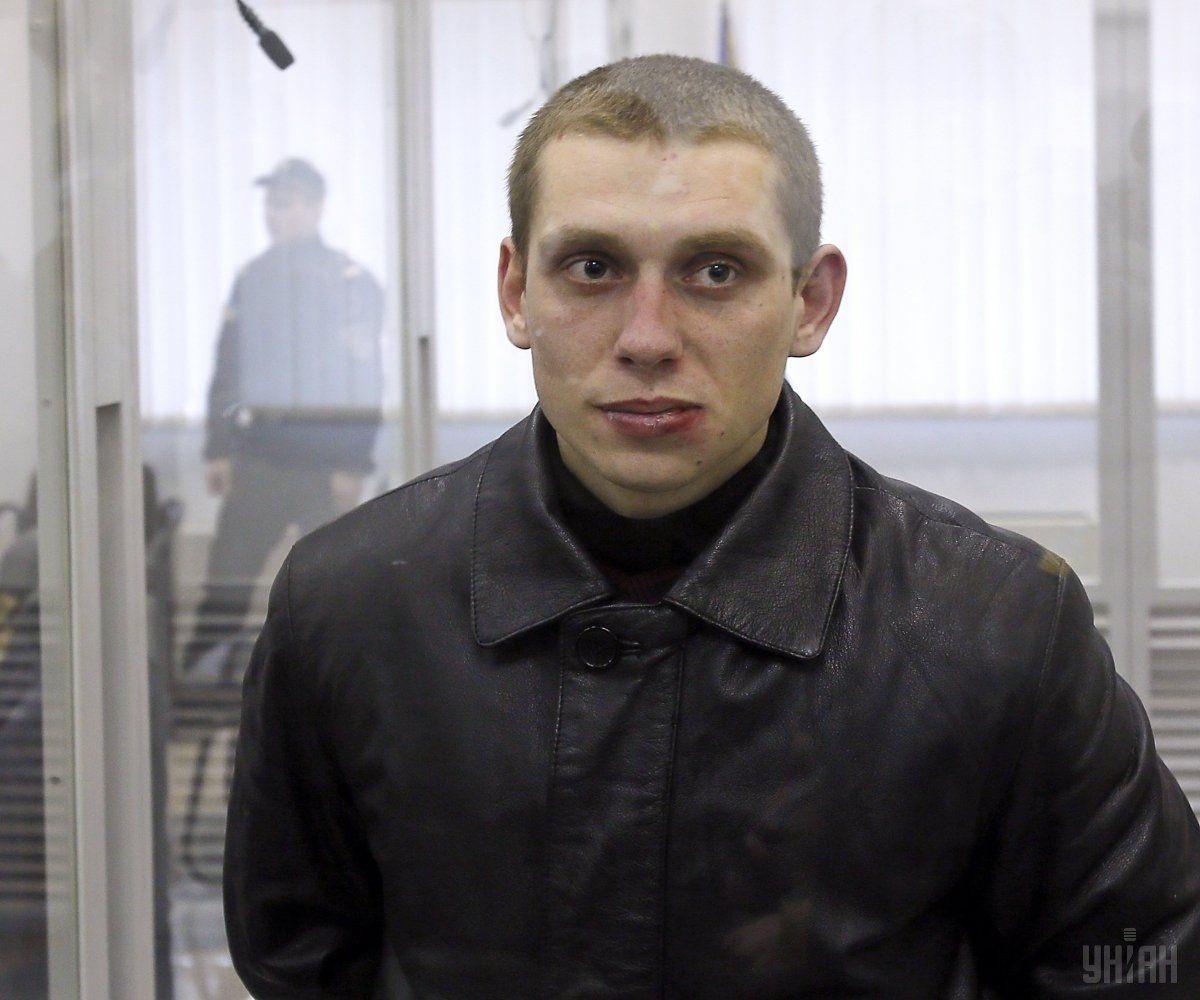 Патрульний Сергій Олійник