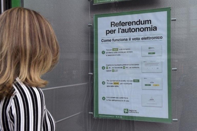 Абсолютна більшість венеційських та ломбардійських виборців проголосували за автономію своїх регіонів