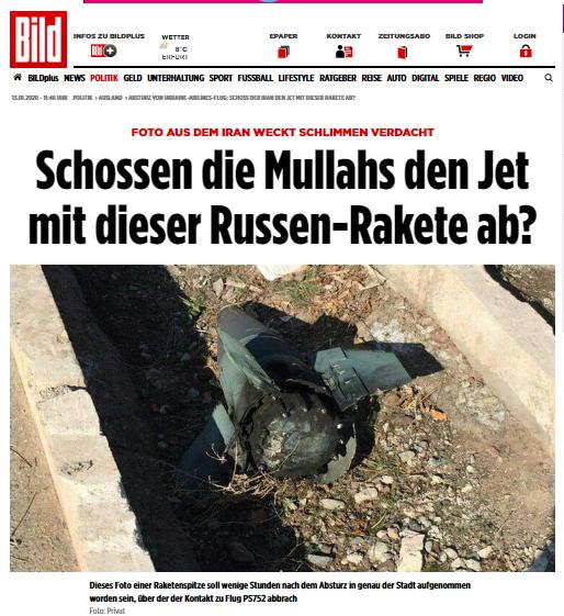 Мулли збили літак російською ракетою?