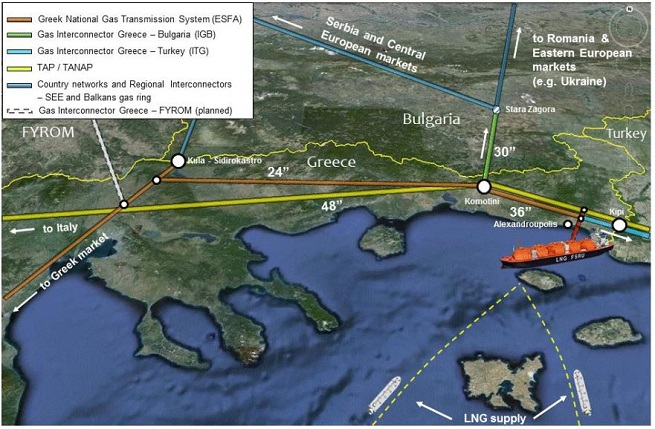 Скраплений природний газ зі США потрапить не лише до Болгарії, а й до Румунії, Молдови, України…