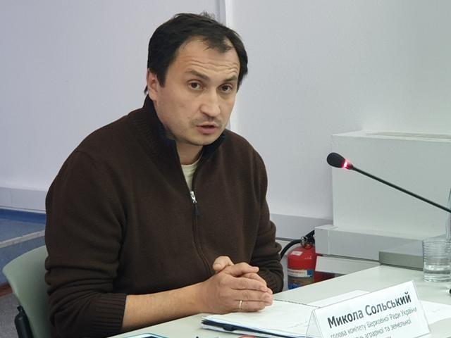 Профільним парламентським комітетом рекомендовано прийняти законопроєкт авторства колективу депутатів на чолі з головою комітету Миколою Сольським