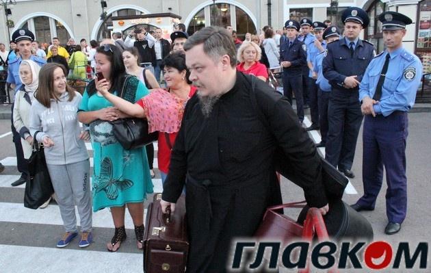 Всеволод Чаплін під час відвідин Києва у 2013 році