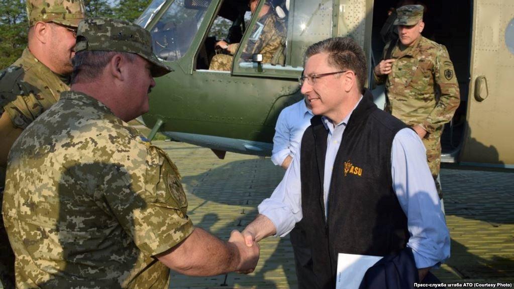 Спеціальний представник Держдепартаменту США з питань України Курт Волкер