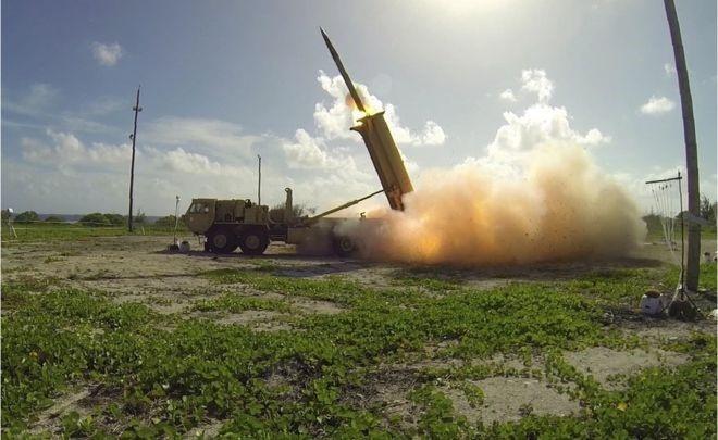 На острові Кодьяк поблизу Аляски випробували протиракетну систему THAAD. Фото: BBC