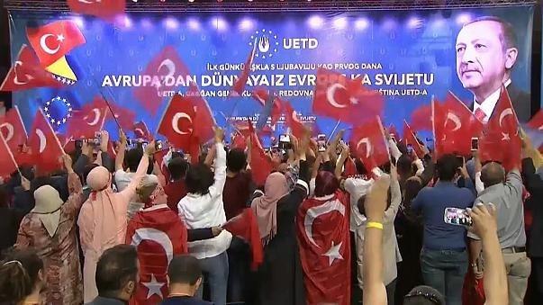 20 травня у Сараєво прибуло 15 тисяч людей на зустріч з Ердоганом
