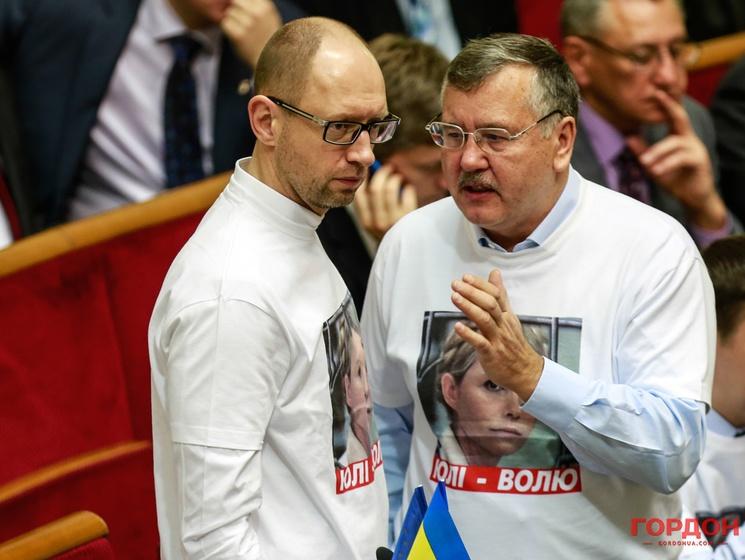 В 2010-му Гриценко створив на базі партії «Могутня Україна» партію «Громадянська позиція», яка в 2012-му стає одним з клаптиків об'єднаного списку опозиції «Батьківщина»