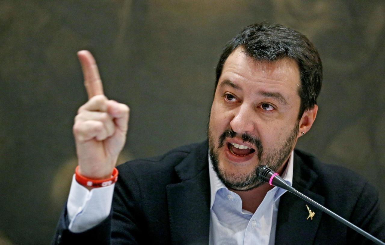 Лідер італійської Lega Nord Маттео Сальвіні вимагає скасування європейських санкцій проти Росії