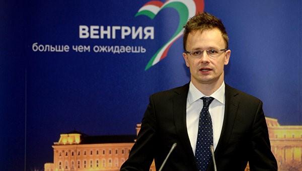 Провайдером антиукраинской политики Будапешта является министр Петер Сиятро