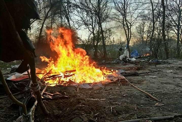 Спалення табору ромів на Лисій горі