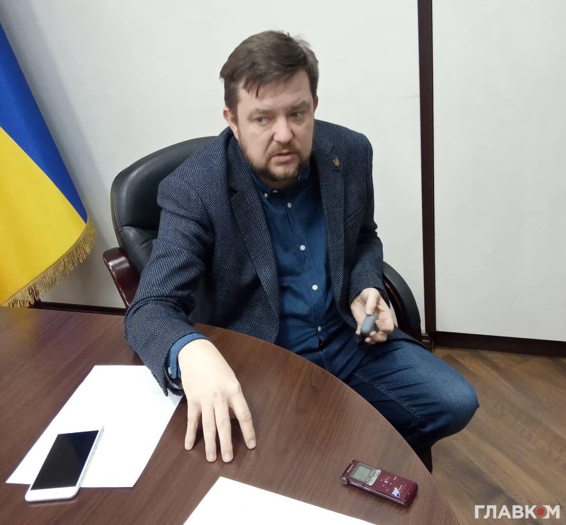 Заступник\ міністра охорони здоров'я Дмитро Коваль