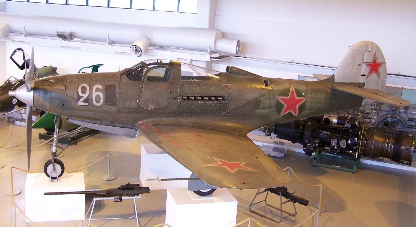 Радянські повітряні аси віддавали перевагу американським винищувачам «Аерокобра»