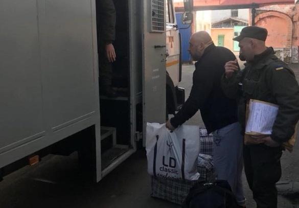8 жовтня Крисіна не без допомоги C14 етапували до виправної колонії в Донецькій області