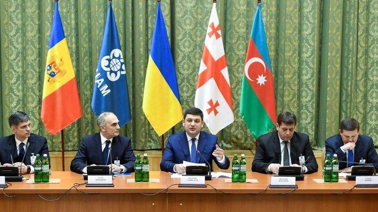 Зустріч глав урядів країн-членів ГУАМ. Березень 2017 року. Фото: Українські новини