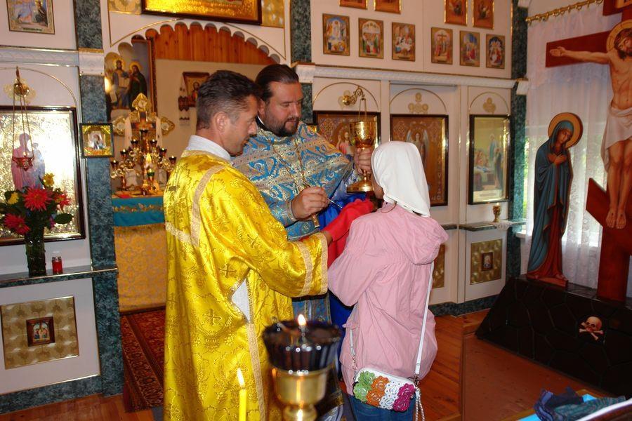 На рідній парафії у Гурівщині