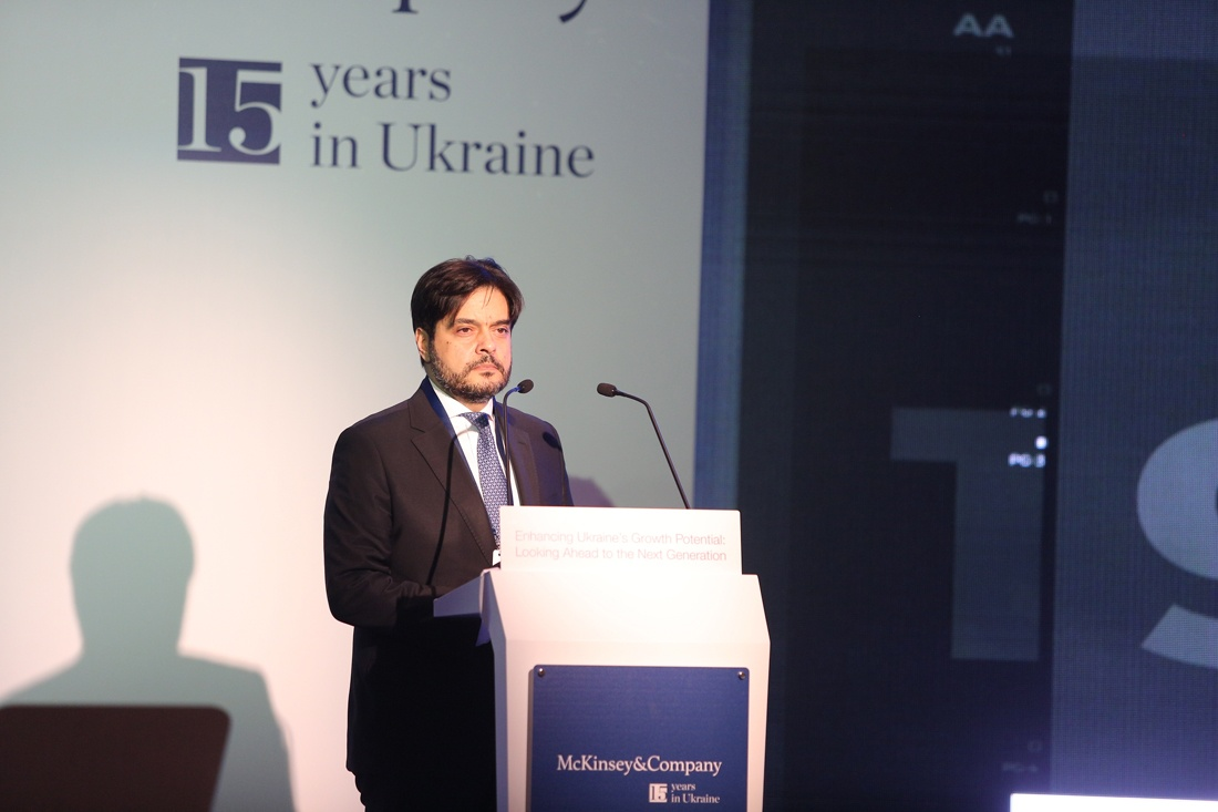 Керівник українського офісу McKinsey&Company Жорж Массуд. Фото: dsnews.ua