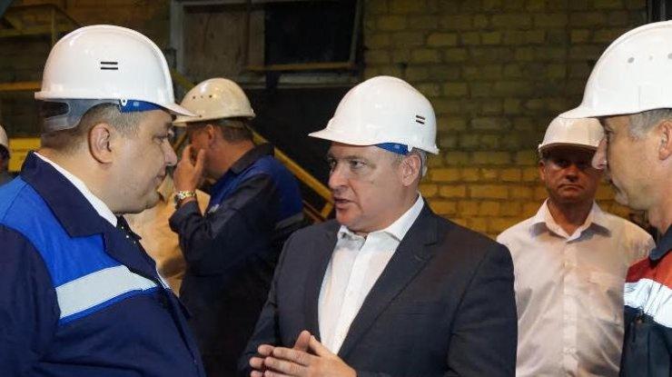 Генеральний директор ЗАлК Дмитро Лобіков