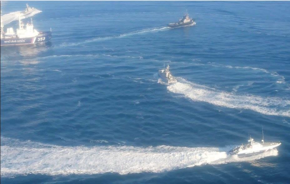 Азовська блокада розпочалась рано-вранці, 25 листопада. Росіяни напали на корабельну група Військово-морських сил Збройних сил України у складі двох малих броньованих артилерійських катерів «Бердянськ» і «Нікополь» і рейдового буксира «Яни Капу», які здійснювали плановий перехід з порту Одеси в порт Маріуполь