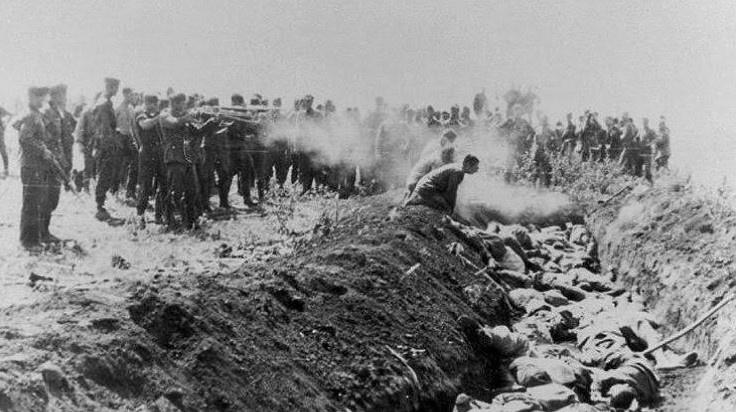 Точна кількість розстріляних у Бабиному Яру невідома. На Нюрнберзькому процесі йшлося про 100 тисяч осіб