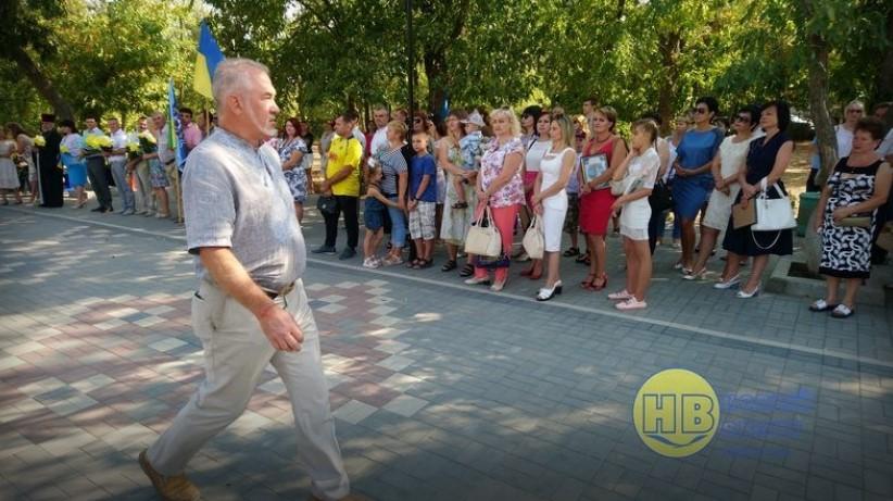 перший заступник глави Генічеської райдержадміністрації Олексій Сищенко