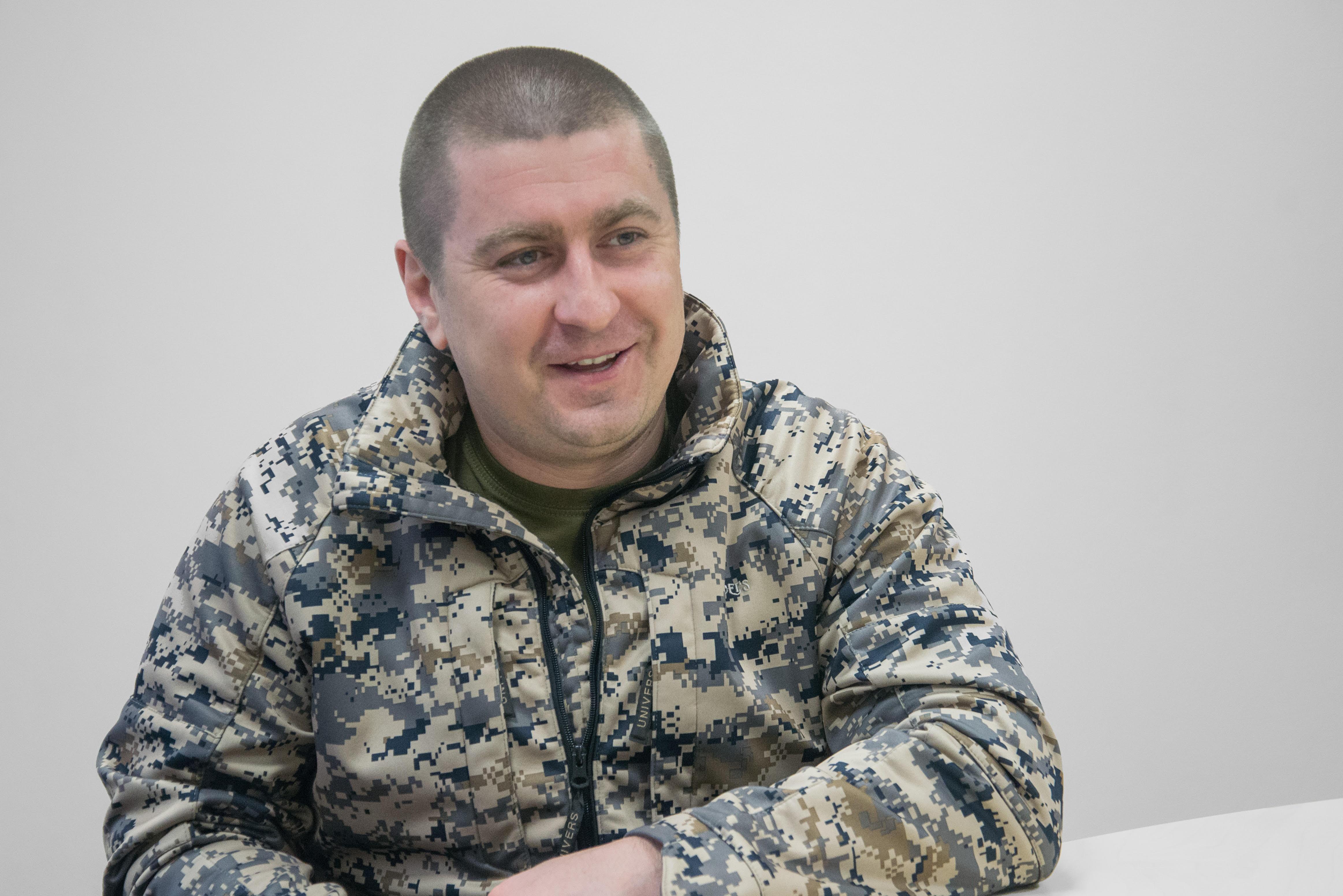 Голова Державної служби у справах ветеранів війни та учасників АТО Валентин Манько