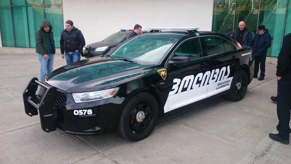 Автомобіль поліції Грузії – Ford Police Interceptor