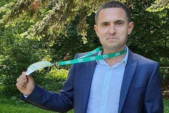 Кандидат від партії «Слуга народу» Олександр Куницький