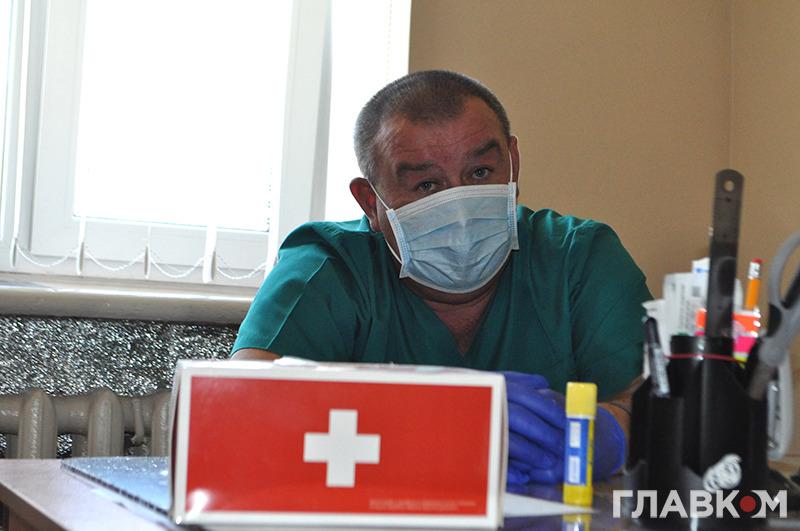 Лікар-реаніматолог Валерій Сивоконюк