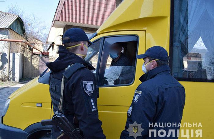 В Україні за порушення карантину штрафують водіїв автобусів