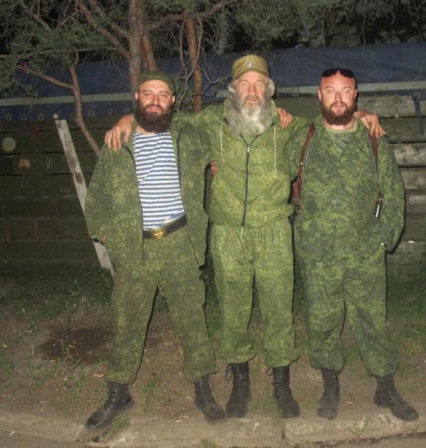 Олександр Тарубаров (крайній зліва). Фото з сайту «Миротворець»