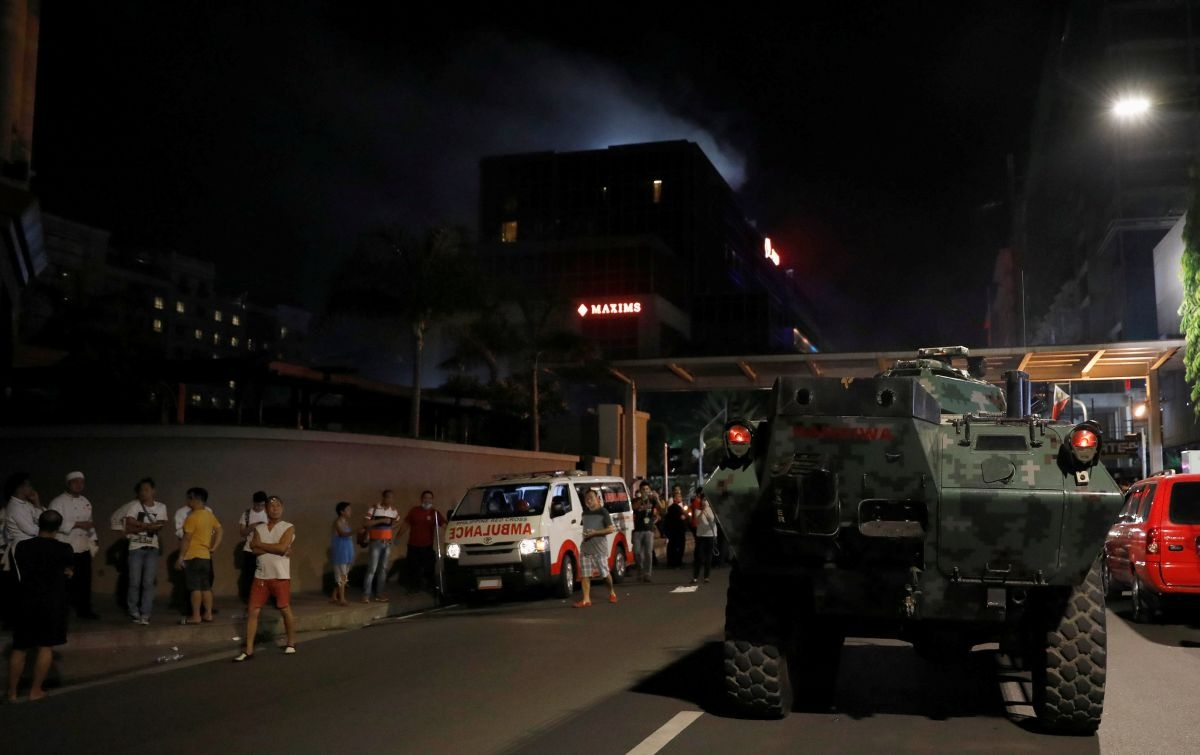 Устолиці Філіппін напали натуристичний комплекс