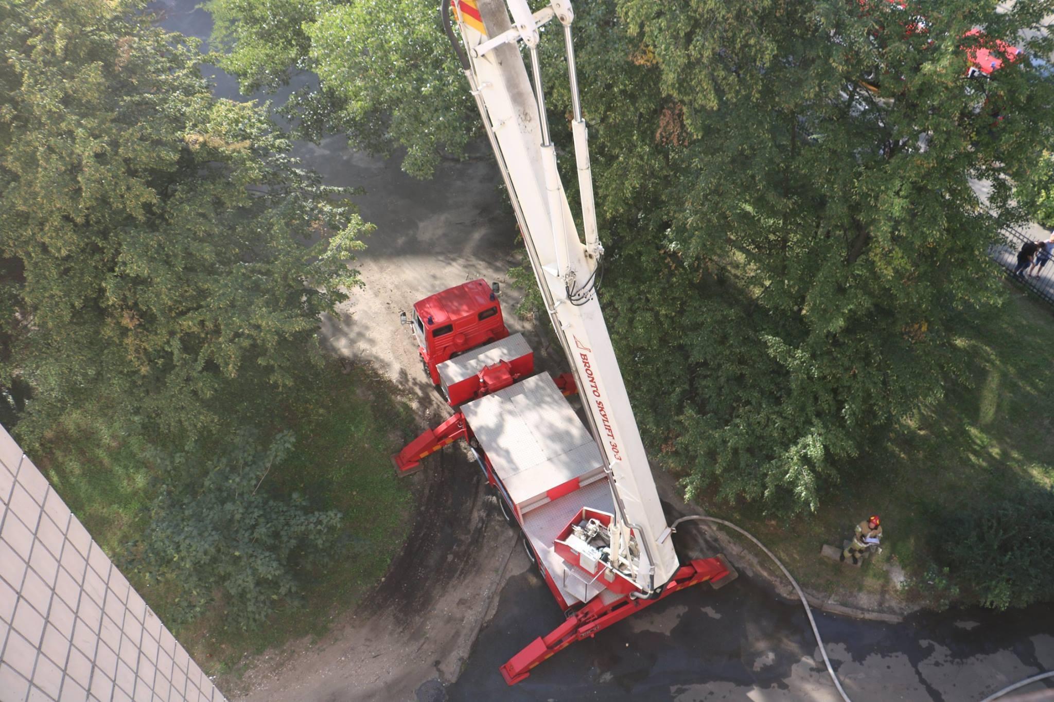 У Києві сталася пожежа в студентському гуртожитку - Главком 14158a7fb0089