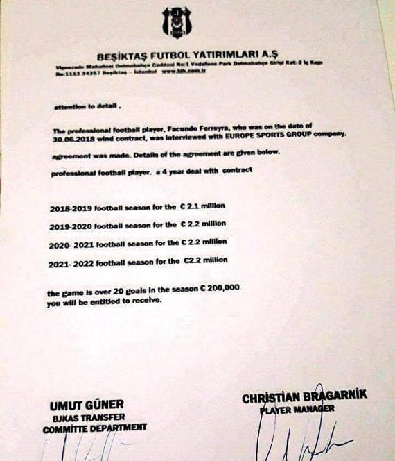 Замість Бернарда— Феррейра: Бешикташ хоче підписати нападника із Шахтаря