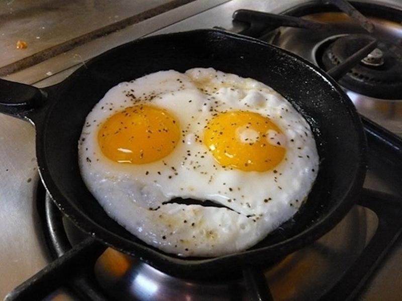 Смешные картинки с яичницей