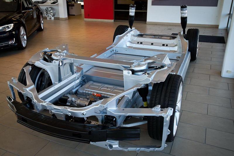 как устроен автомобиль tesla