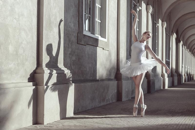 Картинка с балериной, новый год 2017