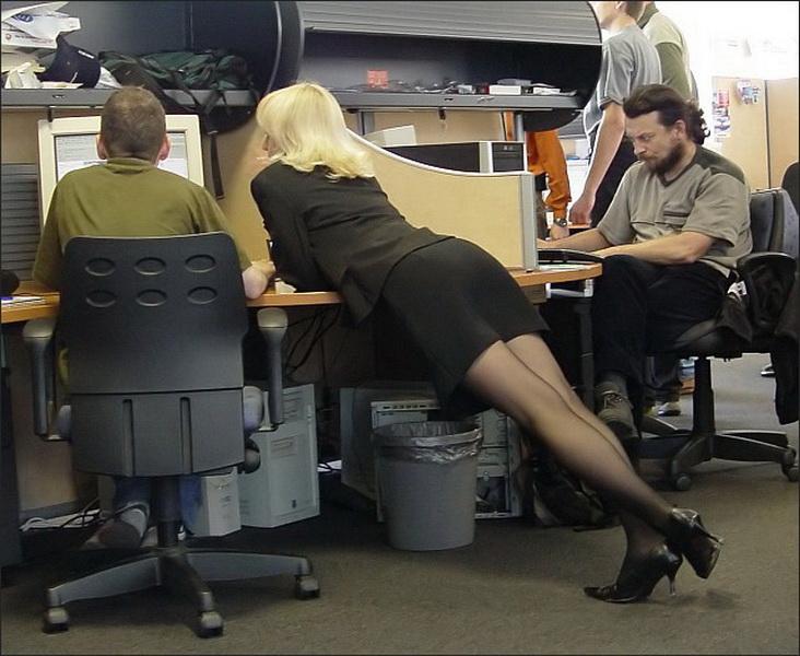 Днем рождения, прикольные картинки про женщин в офисе